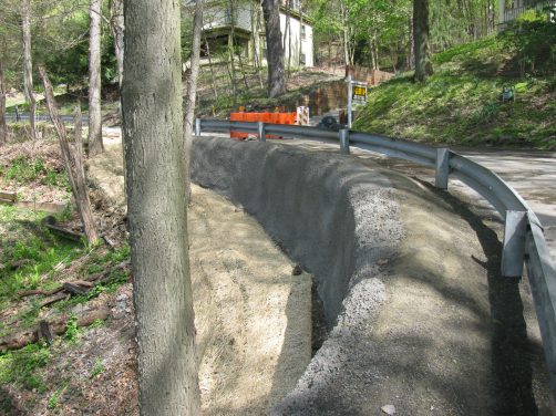 Borough of Glen Osborne Soil Nail Retaining Wall